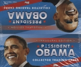 President Barack Obama Collector Trading Cards Hobby Box (2009 Topps)