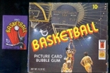 1972/73 Topps Basketball Wax Box