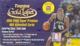 1999/00 Topps Gold Label Basketball Hobby Box