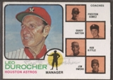 1973 Topps Baseball #624 Leo Durocher Signed in Person Auto