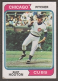 1974 Topps Baseball #378 Burt Hooton Signed in Person Auto