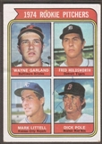 1974 Topps Baseball #596 Dick Pole Signed in Person Auto