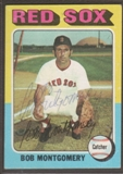 1975 Topps Baseball #559 Bob Montgomery Signed in Person Auto