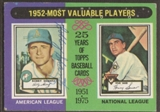 1975 Topps Baseball #190 Bobby Shantz Signed in Person Auto