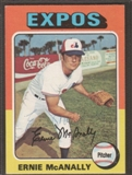 1975 Topps Baseball #318 Ernie McNally Signed in Person Auto