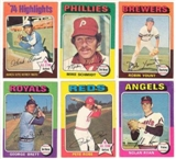 1975 Topps Baseball Complete Set (NM-MT)