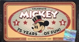 Disney Mickey Mouse 75 Years of Fun Commemorative Card Set (2004 Upper Deck)