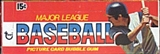 1976 Topps Baseball Wax Box