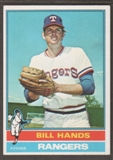 1976 Topps Baseball #509 Bill Hands Signed in Person Auto