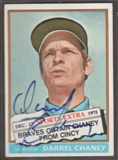 1976 Topps Baseball #259T Darrel Chaney Signed in Person Auto