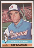 1976 Topps Baseball #53 Mike Beard Signed in Person Auto