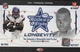 2008 Leaf Rookies & Stars Longevity Football Hobby Box