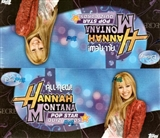 Hannah Montana Pop Star Quiz Cards Box (2008 Topps)