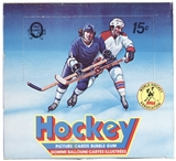 1977/78 O-Pee-Chee WHA Hockey Wax Box