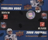2008 Upper Deck Football 24-Pack Box