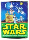 Star Wars 5th Series Empty Wax Box (1977-78 Topps) (Rare)