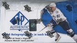 2008/09 Upper Deck SP Authentic Hockey Hobby Box