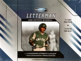 2008 Razor Letterman Edition Baseball Hobby Box