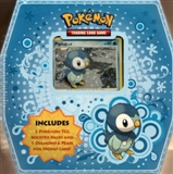 2009 Pokemon Trio Piplup Tin (3 Booster Packs + 1 Promo Card)