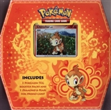 2009 Pokemon Trio Chimchar Tin (3 Booster Packs + 1 Promo Card)
