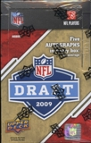 2009 Upper Deck Draft Edition Football Hobby Box