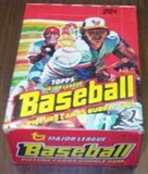 1978 Topps Baseball Wax Box
