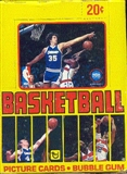 1979/80 Topps Basketball Wax Box