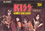 Kiss (The Band) Wax Box (1978 Donruss)