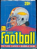 1978 Topps Football Wax Box