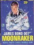 James Bond Moonraker Wax Box (1979 Topps)