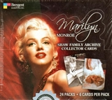 Marilyn Monroe Shaw Family Archives Hobby Box (2008 Breygent)