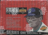 1994 Upper Deck Collector's Choice Series 1 Baseball Retail Box