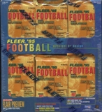 1995 Fleer Football Prepriced Box