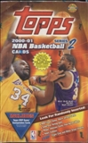 2000/01 Topps Series 2 Basketball Jumbo Box