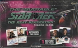 Star Trek The Quotable The Next Generation Trading Cards Box (Rittenhouse 2005)