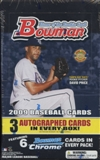 2009 Bowman Baseball Jumbo Box