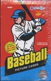 2009 Upper Deck O-Pee-Chee Baseball Hobby Box