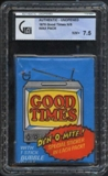 1975 Topps Good Times Wax Pack GAI 7.5 (NM+)