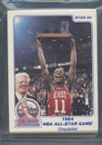 1984 Star Co. Basketball All-Star Game Bagged Set