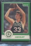 1984 Star Co. Basketball Larry Bird Bagged Set