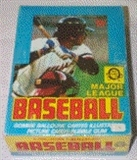 1979 O-Pee-Chee Baseball Wax Box