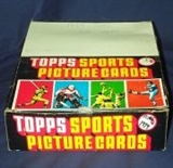 1986 Topps Football Rack Box