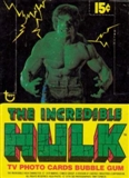 Incredible Hulk Wax Box (1979 Topps)