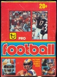 1979 Topps Football Wax Box