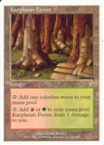 Magic the Gathering 7th Edition Single Karplusan Forest UNPLAYED (NM/MT)