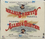 2008 Topps Allen & Ginter Baseball 24-Pack Box