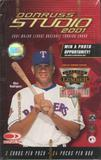 2001 Donruss Studio Baseball Retail 24 Pack Box