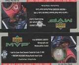 2001 Upper Deck MVP Baseball Prepriced Box