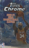 2000/01 Topps Chrome Basketball Retail Box