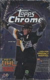 2000/01 Topps Chrome Hockey Retail Box